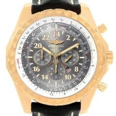 Breitling Bentley Le Mans Chrono Gelbgold Limitierte Auflage Uhr K22362