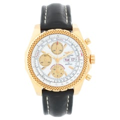 Breitling Bentley Men's 18 Karat Yellow Gold Chronograph Watch K1336212
