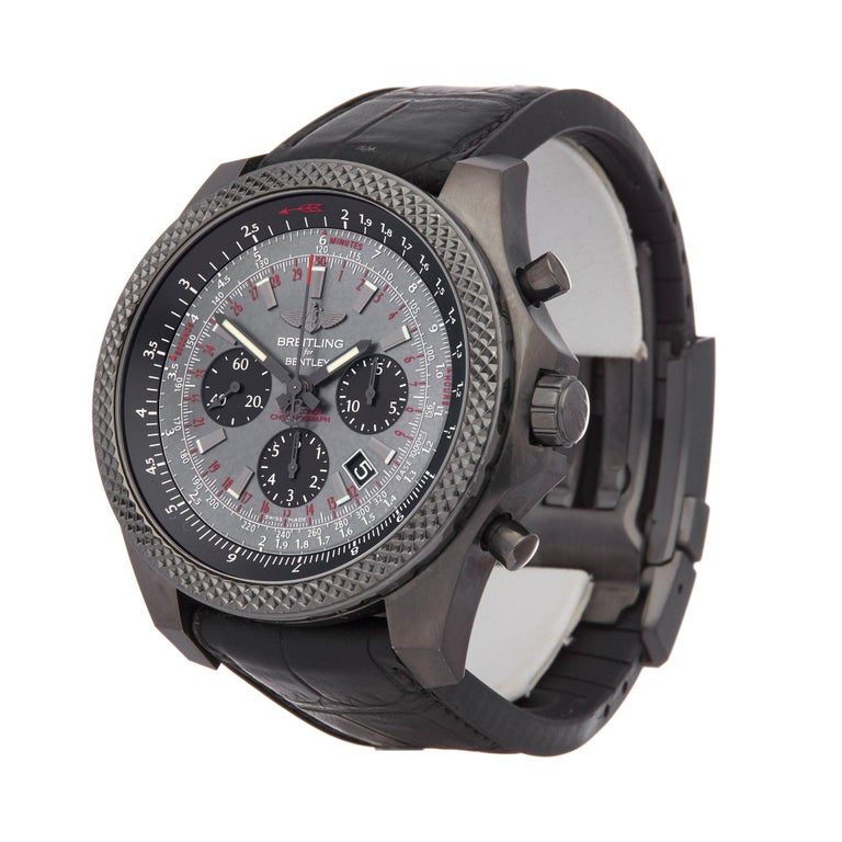 Xupes Reference: COM002462 Manufacturer: Breitling Model: Bentley Model Variant: Midnight Model Number: MB061113 Age: 28-11-2019 Gender: Men Complete With: Breitling Box, Manuals, Guarantee & Certificates Dial: Black Mother of Pearl Baton Glass: