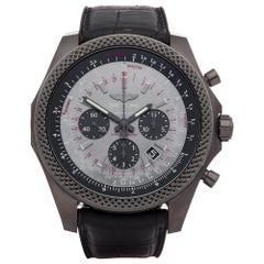 Breitling Bentley Midnight MB061113 Men's DLC Coated Stainless Steel Chronograph