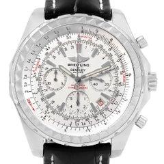 Breitling Bentley Motors Chronograph Silver Dial Men's Watch A25362