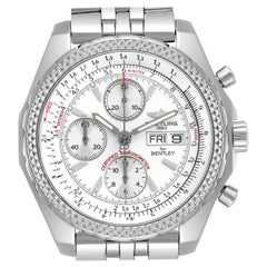 Breitling Bentley Motors GT Silver Dial Chronograph Men's Watch A13362