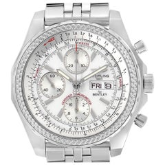 Breitling Bentley Motors GT Silver Dial Chronograph Men's Watch A13362