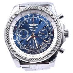Breitling Bentley Motors Stainless Steel Watch A25362