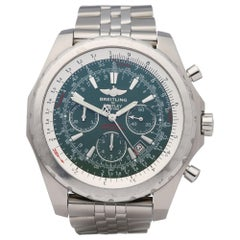 Breitling Bentley Motors T A25363 Men Stainless Steel Chronograph Watch