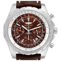 Breitling Bentley Motors T Chrono Bronze Dial Steel Men's Watch A25363