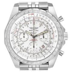 Breitling Bentley Motors T White Dial Chronograph Men's Watch A25363 Box