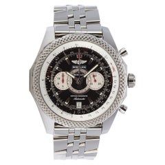 Breitling Bentley Supersports Stainless Steel A26364 Box Papers Extra Strap