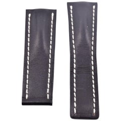 Breitling Black Leather Strap 442X