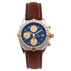 Breitling Blue Angel Stainless Steel Chronograph Wristwatch with Date