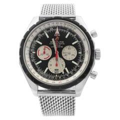 Breitling Chrono-Matic 49 Steel Black Dial Men's Watch A1436002/B920-152A