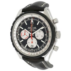 Breitling Chrono-Matic A14360, Black Dial, Certified and Warranty