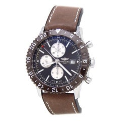 Breitling Chronoliner Y24310, Brown Dial, Certified and Warranty