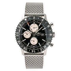 Breitling Chronoliner Y24310, Silver Dial, Certified and Warranty