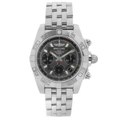 Breitling Chronomat Steel Gray Dial Automatic Mens Watch AB014012-F554-378A