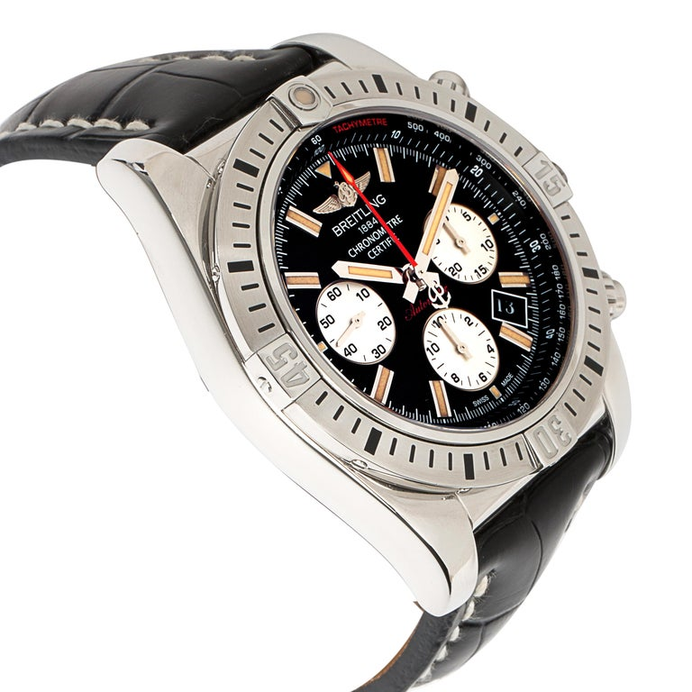 Breitling Chronomat 44 Airbourne AB0115 Men's Watch in Stainless Steel For Sale 1