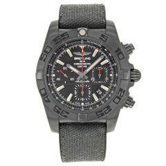 Breitling Chronomat 44 Blacksteel Fabric Automatik Herrenuhr MB0111C3/BE35-253S