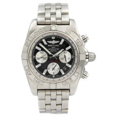 Breitling Chronomat 44 Steel Black Dial Automatic Men's Watch AB011011/B967-375A