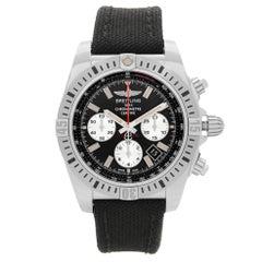 Breitling Chronomat Airborne Steel Black Dial Mens Watch AB01154G/BD13-1FD