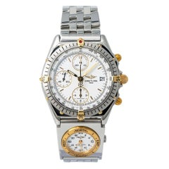 Breitling Chronomat 81950, Silver Dial, Certified and Warranty