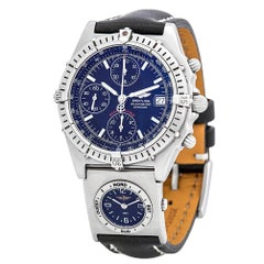 Breitling Chronomat A13050.1, Silver Dial, Certified and Warranty