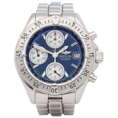 Breitling Chronomat A13335 Men's Stainless Steel Chronograph Watch