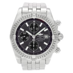 Breitling Chronomat A13356, Black Dial, Certified and Warranty