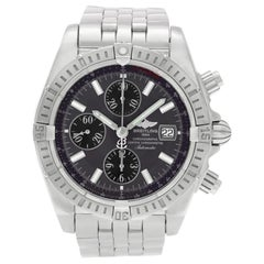 Breitling Chronomat A13356, Silver Dial, Certified and Warranty