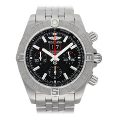 Breitling Chronomat A44360, Black Dial, Certified and Warranty