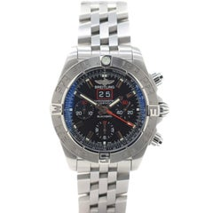 Breitling Chronomat A44360 with Stainless-Steel Bezel and Black Dial