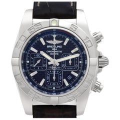 Breitling Chronomat AB0110, White Dial, Certified and Warranty