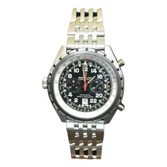 Breitling Chronomat AB0115, Black Dial, Certified and Warranty