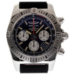 Breitling Chronomat AB0115, Silver Dial, Certified and Warranty