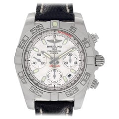 Breitling Chronomat AB0140, Silver Dial, Certified and Warranty