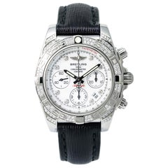 Breitling Chronomat AB0140, White Dial, Certified and Warranty
