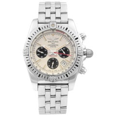 Breitling Chronomat Airborne 44 Steel Silver Dial Men's Watch AB01154G/G786-375A