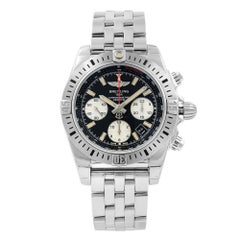 Breitling Chronomat Airborne Steel Automatic Mens Black Watch AB01442J/BD26-378A