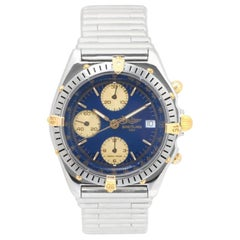 Breitling Chronomat B13047, Silver Dial, Certified and Warranty