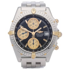 Breitling Chronomat B13350 Men's Stainless Steel & Yellow Gold Chronograph Watch