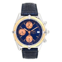 Breitling Chronomat C13047, Blue Dial, Certified and Warranty