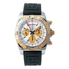Breitling Chronomat CB0420, Blue Dial, Certified and Warranty