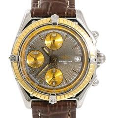 Breitling Chronomat D13048 Men's Automatic Chronograph Watch 18 Karat Gold