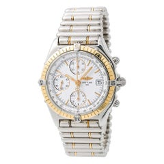 Breitling Chronomat D13050, Silver Dial, Certified and Warranty