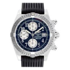 Breitling Chronomat Evolution A13356, Black Dial, Certified