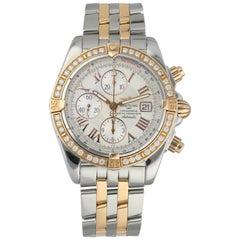 Breitling Chronomat Evolution C13356 Diamond Bezel Men's Watch
