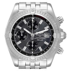 Breitling Chronomat Evolution Grey Dial Steel Men's Watch A13356
