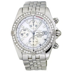 Breitling Chronomat Evolution Stainless Steel Automatic Men's Watch A13356