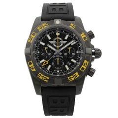 Breitling Chronomat GMT PVD Steel Black Dial Men's Watch MB04108P/BD76-155S