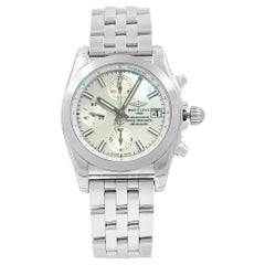 Breitling Chronomat MOP Dial Steel Automatic Ladies Watch W1331012/A774-385A