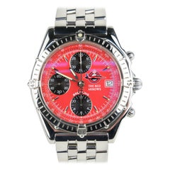 Breitling Chronomat Red Arrows Limited Edition Stainless Steel Wristwatch